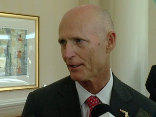Governor Rick Scott on Trump's sex allegations