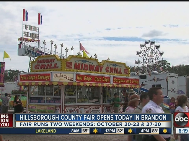 Hillsborough County Fair opens Thursday in Brandon