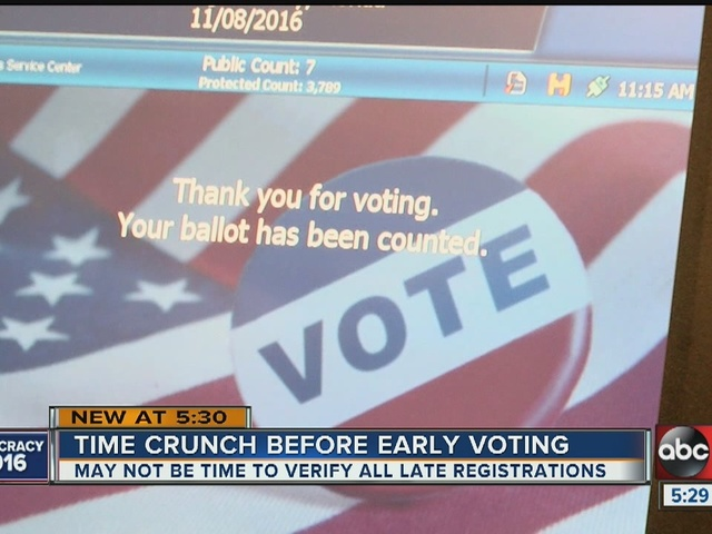 Judge: FL voting rules won't change due to storm