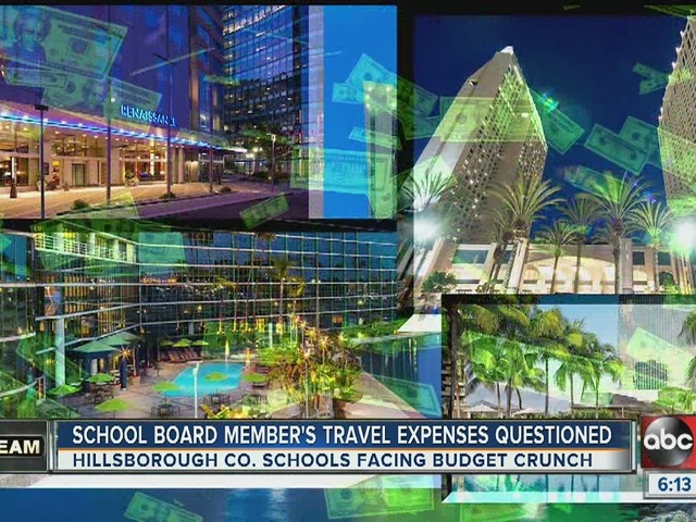 School board member continues travel despite ban