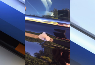 Stray bullet hits car traveling on US 301