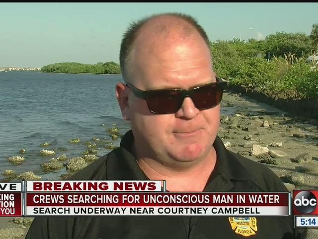 Dive team combs Tampa Bay for missing boater