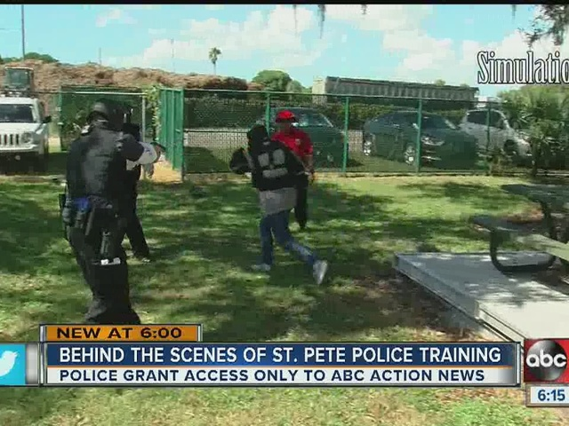 EXCLUSIVE: Action News granted behind the scenes of active shooter…