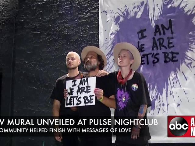 Mural unveiled at Pulse Nightclub