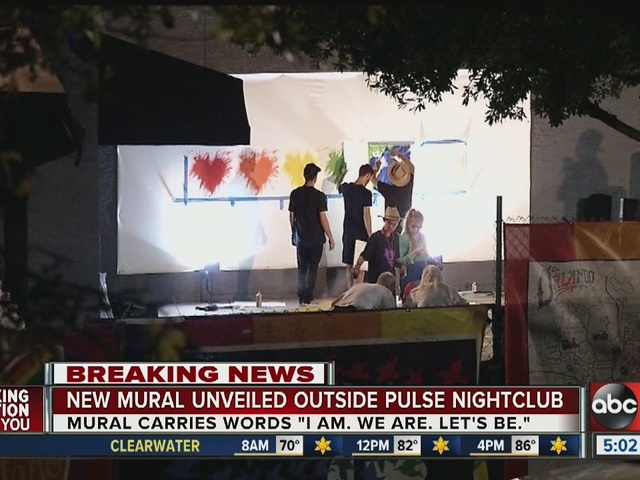 Mural unveiled at Pulse Nightclub in Orlando