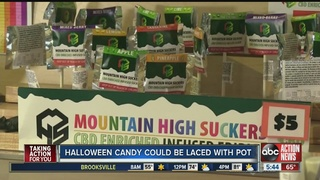 Sheriff issues warning about marijuana candy