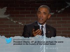 VIDEO: Obama reads 'Mean Tweets' on Jimmy Kimmel