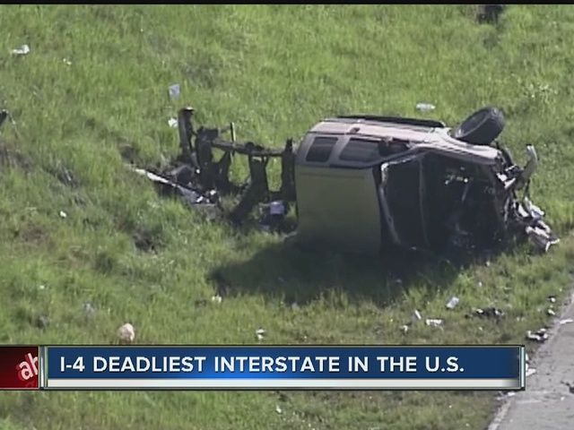 I-4 is the deadliest interstate in the United States
