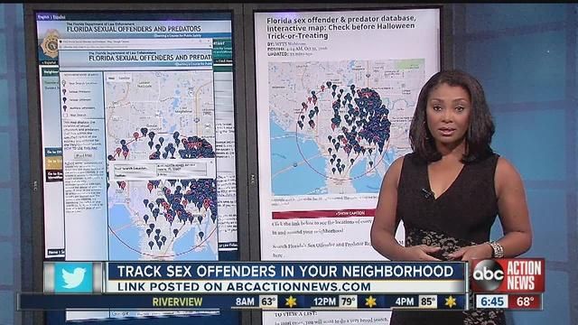 Sex offenders around your neighborhood