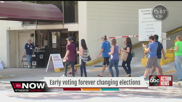 1M Massachusetts voters cast ballots in 1st early voting