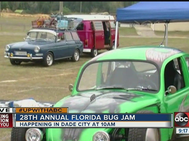 Florida Bug Jam invades Dade City for 3-day run
