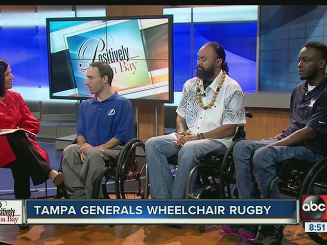 Positively Tampa Bay: Wheelchair Rugby