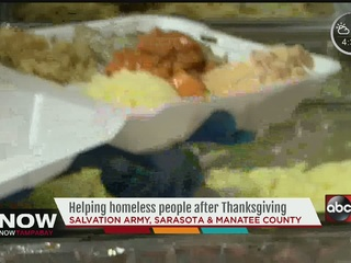 Salvation Army feeds the hungry in Sarasota