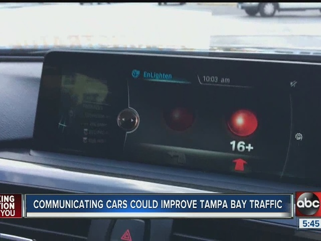Communicating cars could make Tampa Bay Area's commutes faster, safer