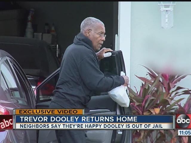 Neighbors say they're happy Trevor Dooley is out of jail