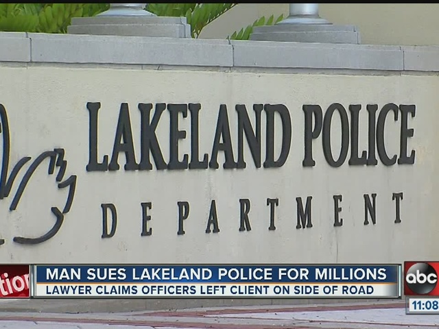 Polk County man suing Lakeland Police for millions