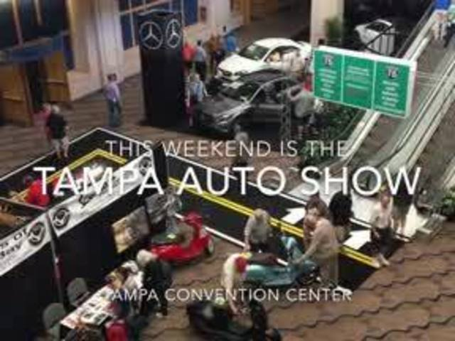 Digital Short: Auto Show comes to Tampa Convention Center