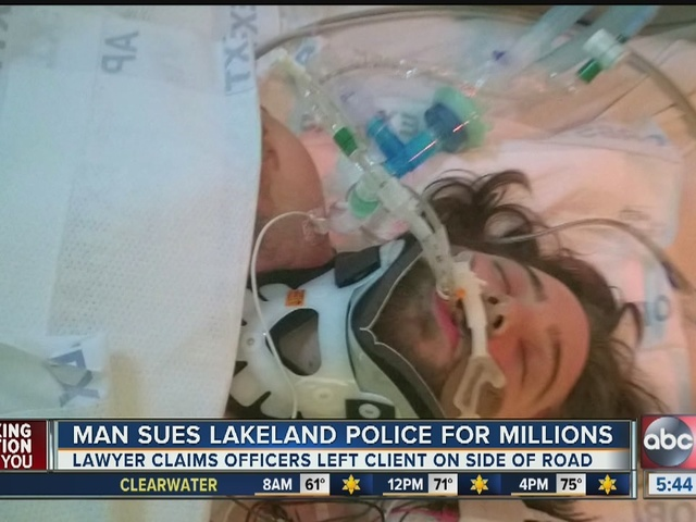 Man sues Lakeland police for millions