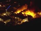 2-Alarm fire burning near Port of Tampa