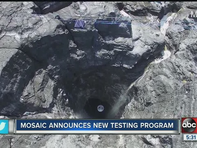 Mosaic scales back free water testing program and will stop offering…