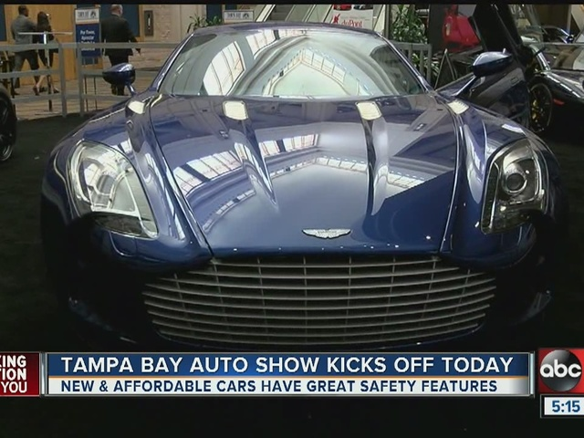 Tampa Auto Show shows off the affordable, and the incredible