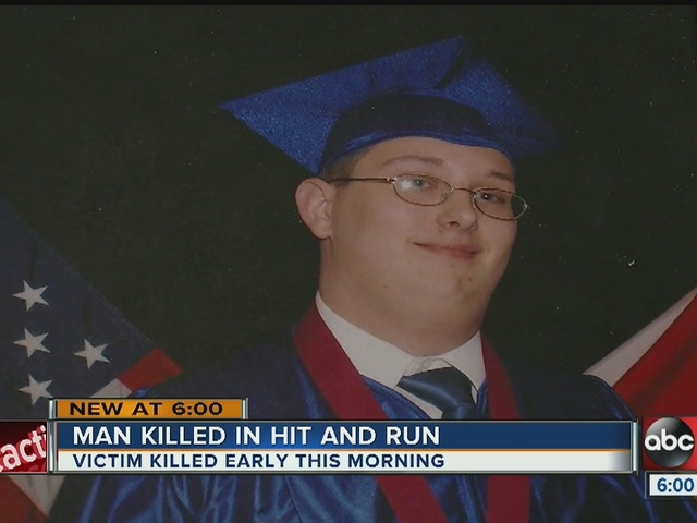 Man killed in hit and run