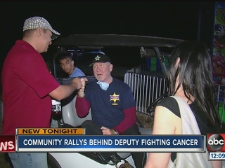 Community supporting HCSO deputy with cancer