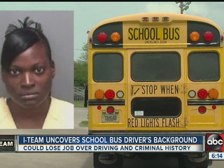 Pinellas school bus driver fired