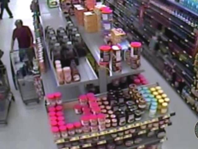 RAW VIDEO: Sarasota man caught on surveillance video looking up skirts…