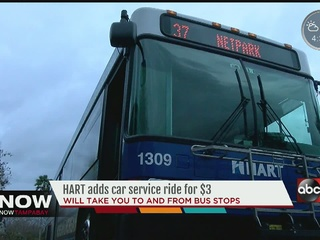 HART service picks up and drops off in Brandon