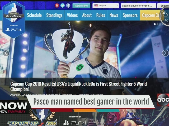 Pasco Co. man becomes first American Capcom Cup champion