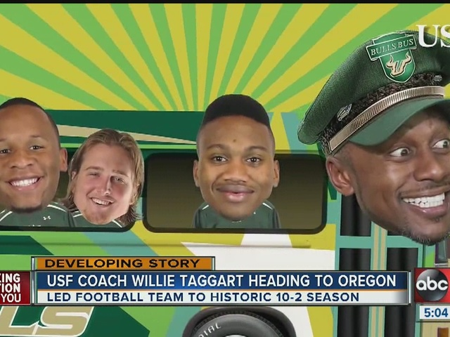 USF's Willie Taggart named head football coach at Oregon