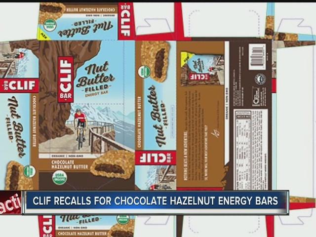 CLIF Bar & Company recalls energy bars