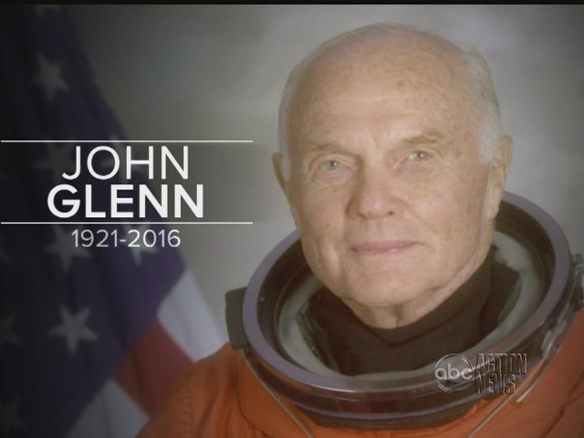 Special Report: John Glenn, Astronaut And Former US Senator, Dies At Age 95