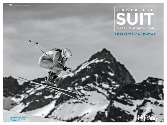 U.S. ski racers produce nude calendar to help raise money