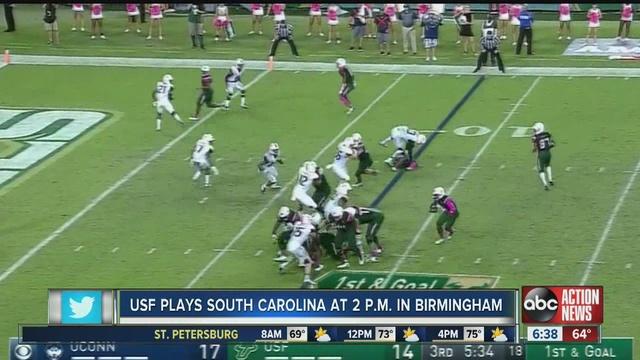 Watch South Florida vs South Carolina Online