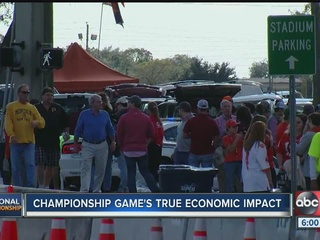 CFP game may not boost Tampa Bay economy