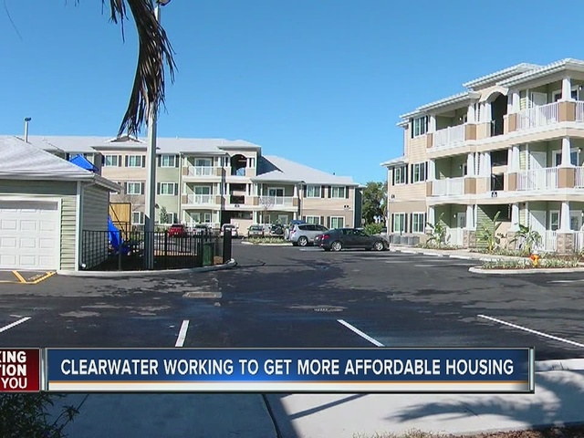 Clearwater Officially Opens New Affordable Housing Community Wfts Tv