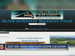 Audit: $20K+ missing from Athletic Booster