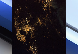 What does Tampa Bay look like from space?