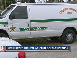 Arrest made in death of former college professor