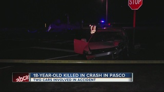 18-year-old killed in Pasco crash