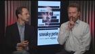 Actors Bryan Cranston and Giovanni Ribisi...