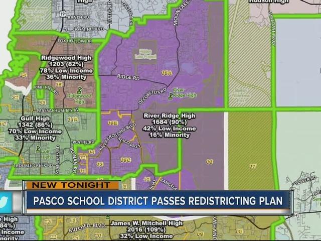 Pasco School District passes redistricting plan