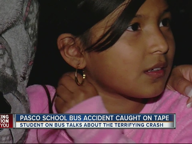 9-year-old student describes terrifying crash as semi-truck collides…