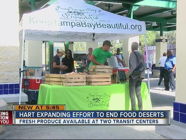 HART expanding effort to end food deserts