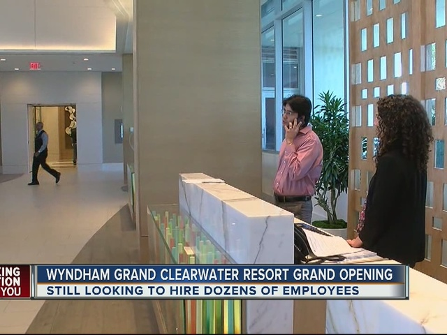 Managers need to hire ASAP for Clearwater's newest resort