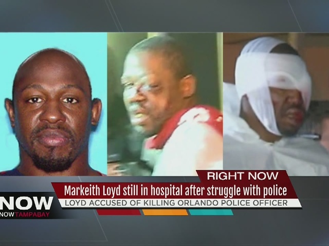 Markeith Loyd still in hospital after struggle with police