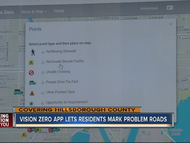 New online site lets you post problem roads and sidewalks around…
