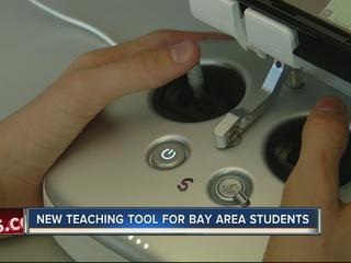 Aeronautics students get new drone center